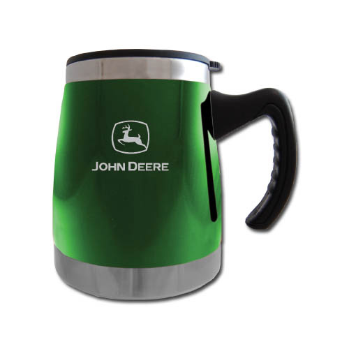 Squat Mug w/Handle- Green