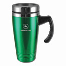 Colored Stainless-Steel Mugs-Green