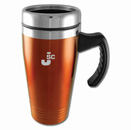 Colored Stainless-Steel Mugs – Orange