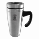 Colored Stainless-Steel Mugs - Silver