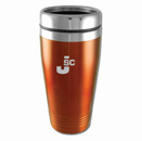 Colored Stainless-Steel Tumblers - Orange