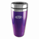 Colored Stainless-Steel Tumblers - Purple