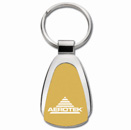 Teardrop Key Tag in Gold