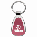 Teardrop Key Tag in Pink