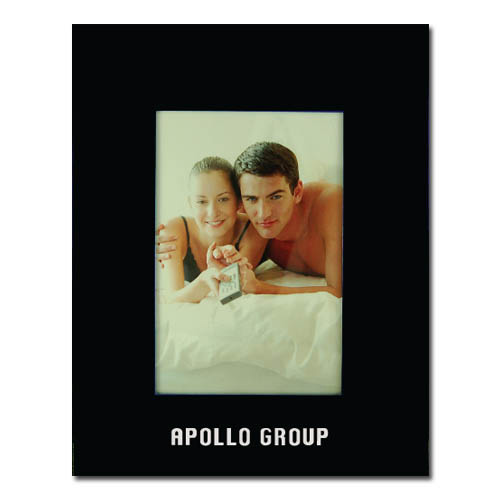 Color Brushed Metal 3X5 Picture Frame - BLACK DSK3004