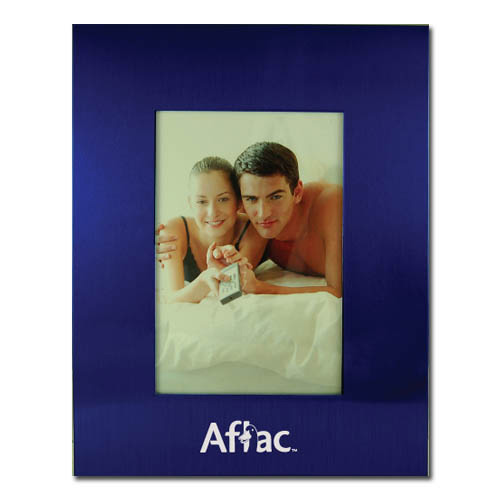 Color Brushed Metal 3X5 Picture Frame – BLUE DSK3010