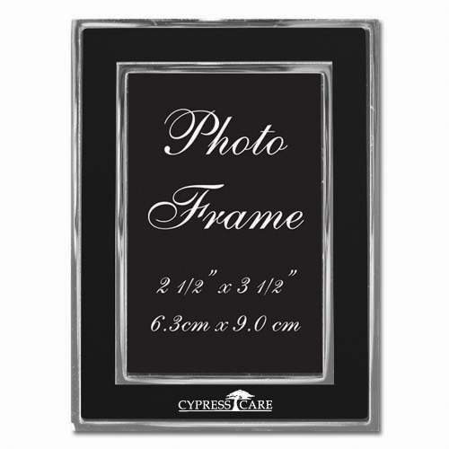 Colored-Black Metal Photo Frame 2.5″ x 3.5″ DSK3018