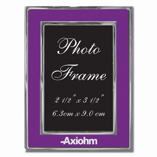 Colored-Purple Metal Photo Frame 2.5