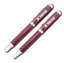 Pink Carbon Fiber Pen/Pencil Set