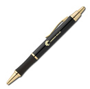 Click Action Ballpoint Pen - Black Gold