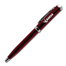 Click-Action Gel Pen – Burgandy