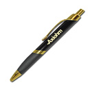 Triangle Grip Pen – Black Gold