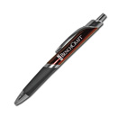 Triangle Grip Pen – Burgandy Silver