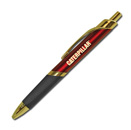 Triangle Grip Pen – Burgandy Gold