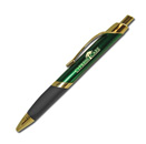 Triangle Grip Pen - Green Gold
