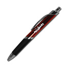 Triangle Grip Pen – Red Silver