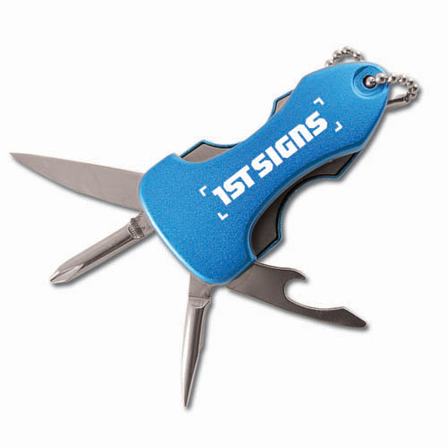 Blue 4-in-1 Multi-Tool w/LED Light TOL0006