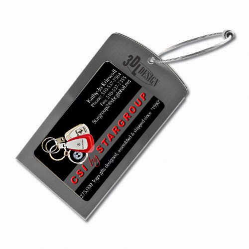 Luggage Tag Displaying Business Card ACC6009