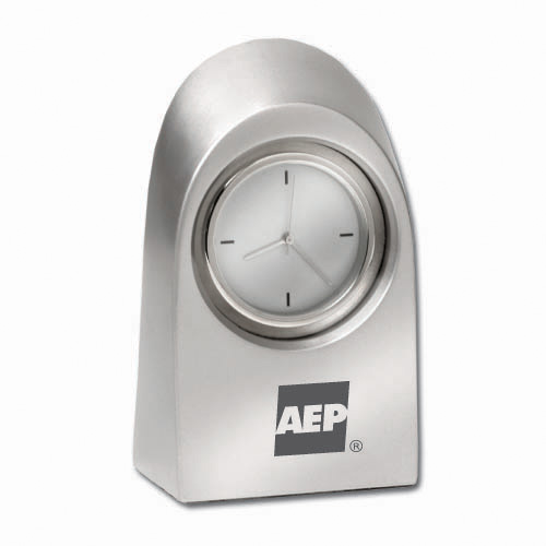 Desk Clock- Arc Metal DSK0010