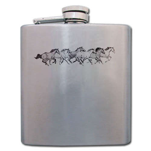 6 oz. Ladies Flask