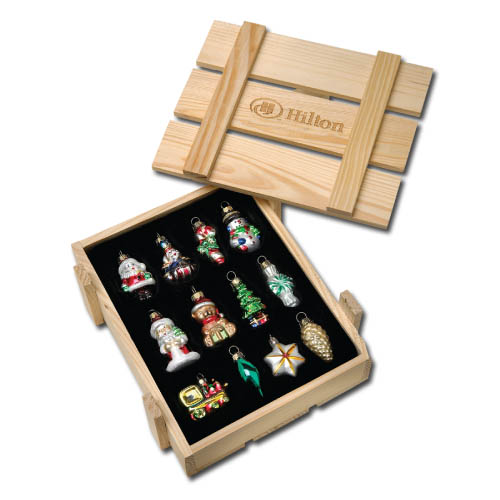 12-pc Christmas Tree Ornament Set