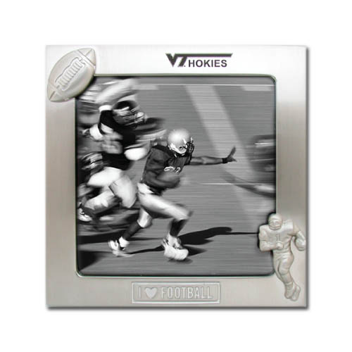"4″  X 4″ ""I love Football"" Photo Frame DSK3014"