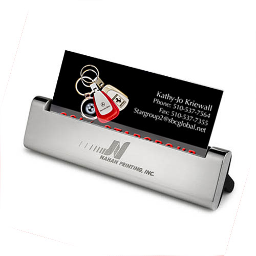 Business Card Holder- Silver ACC1025