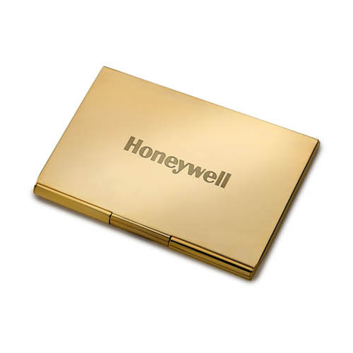 Business Card Holder- Gold Pocket ACC1022